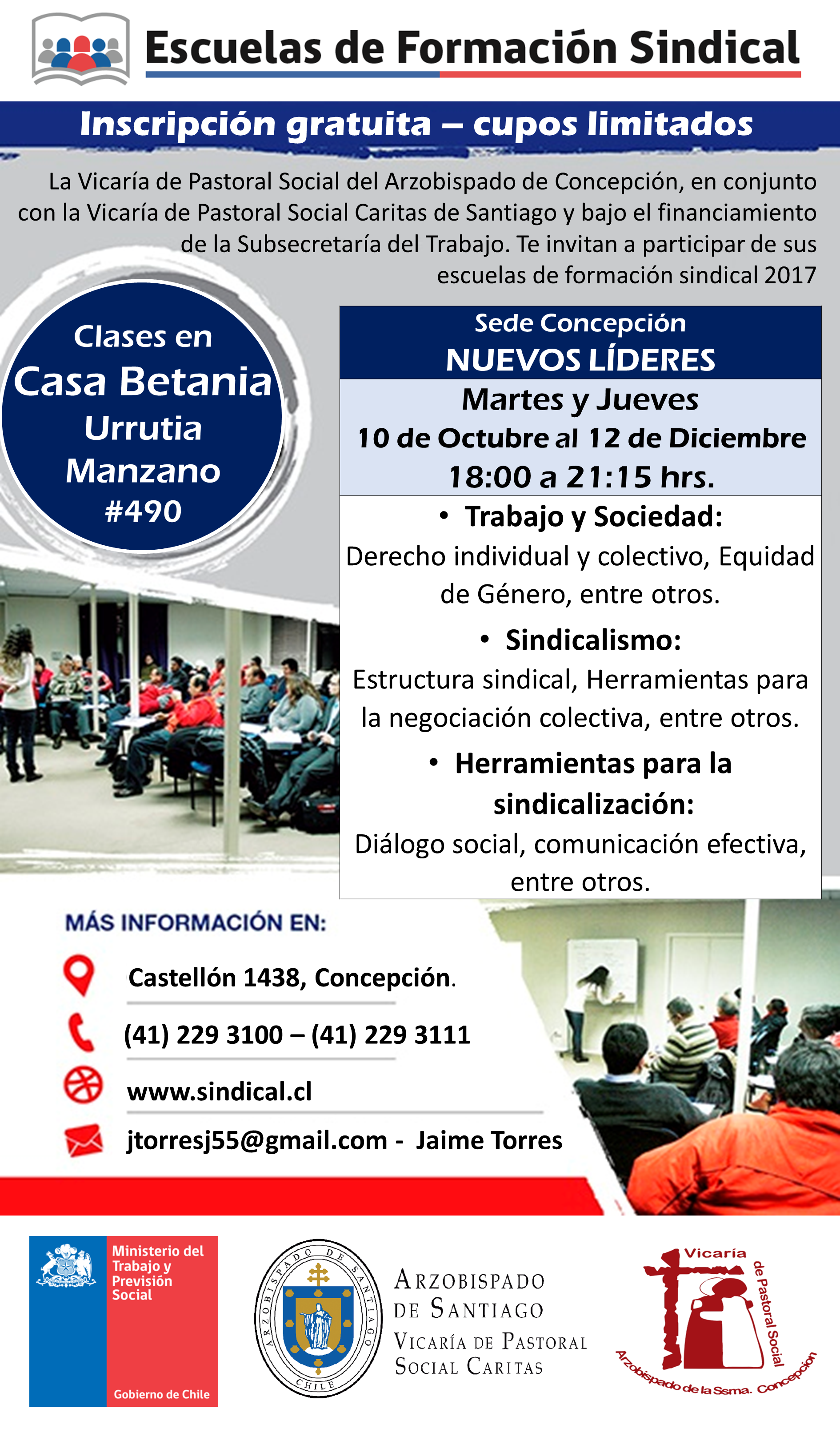 Difusión Nuevos líderes Concepción