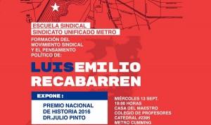 Escuela Sindical SUT 2017 jornada inaugural