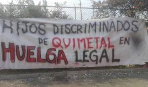 huelga quimetal 17
