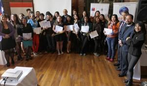 primera ceremonia de certificación empleabilidad - servicio de comedores y bodega