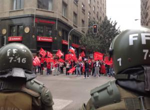 entrevista informe huelgas - represión policial