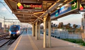 metro tren huelga