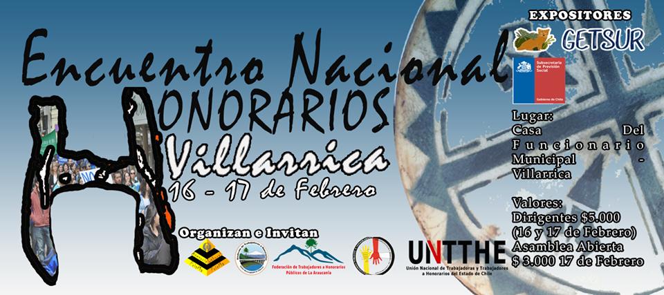 encuentro honorarios municipales araucania 2018