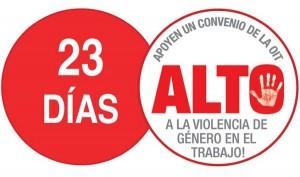 accion 23 dias no violencia de genero en el trabajo