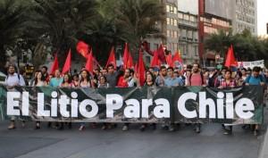 el litio para chile 22 de marzo