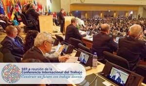 107a conferencia internacional del trabajo