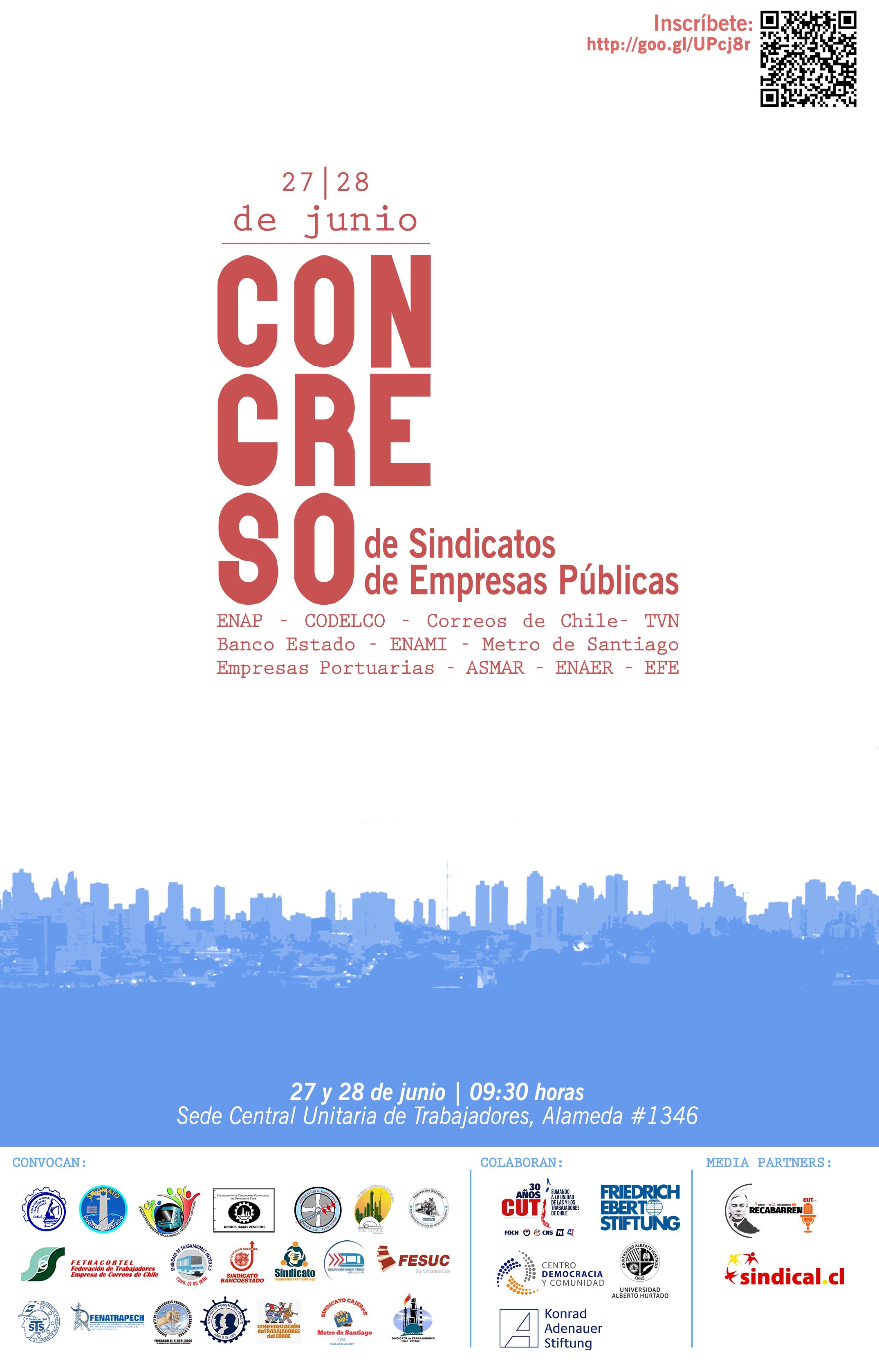 afiche congreso empresas públicas
