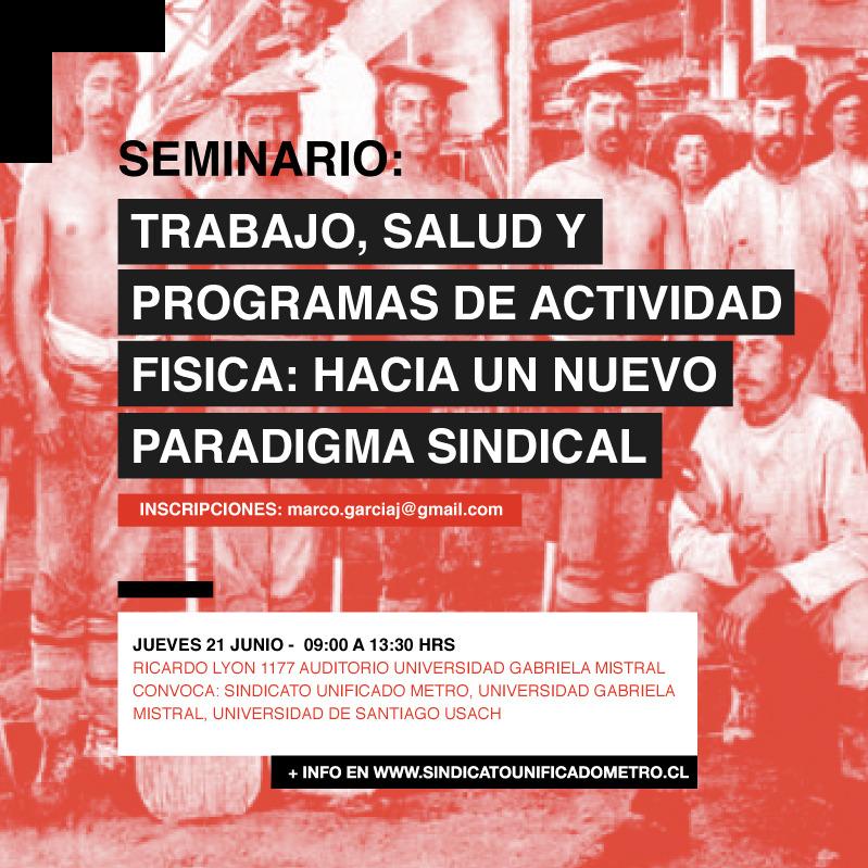 seminario - sind unificado de metro