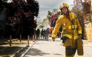 El bombero y la explosión del sodimac