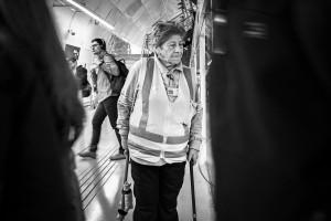 La dama no puede jubilar