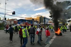 union portuaria protesta
